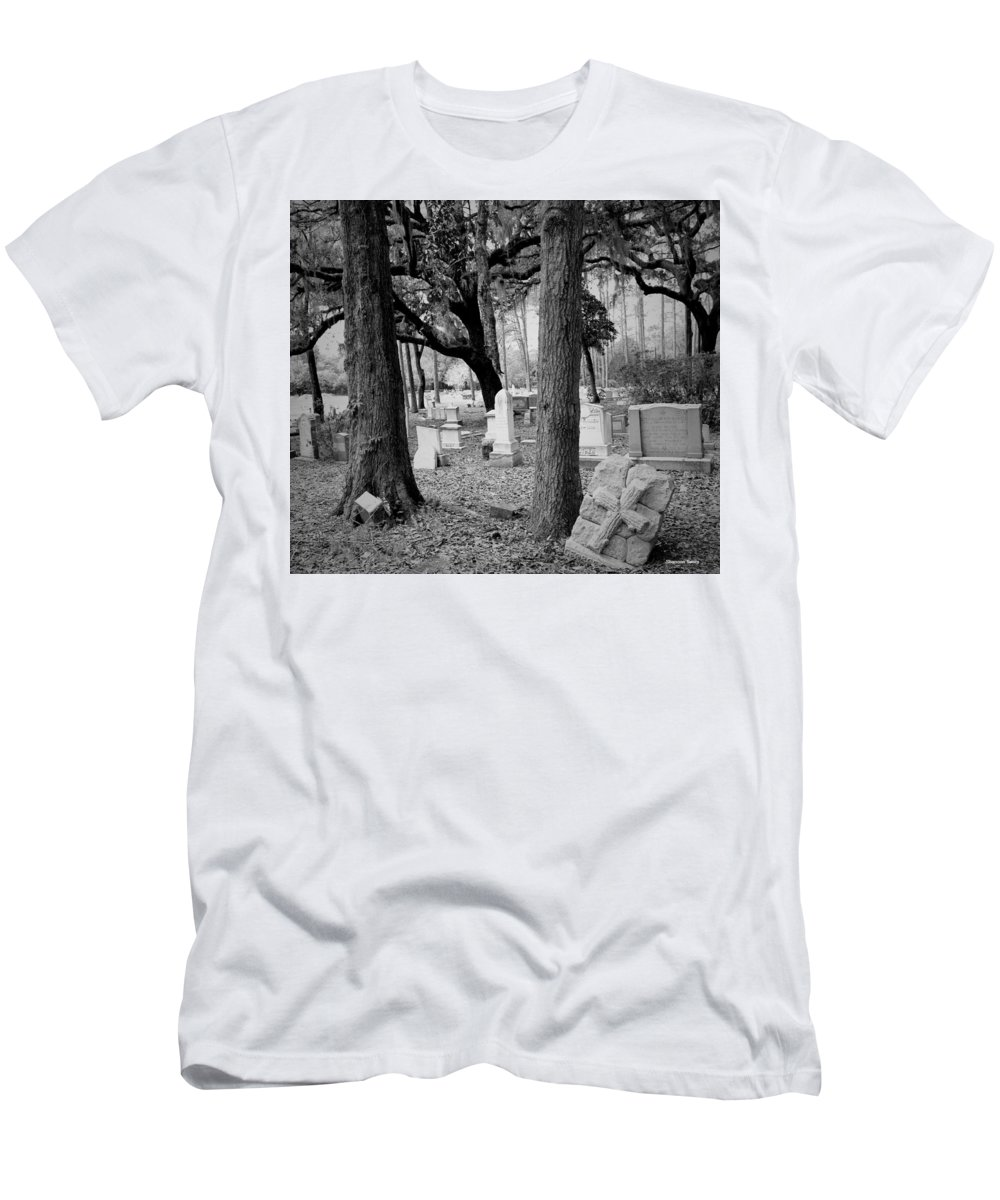 Shannon Men's T-Shirt (Athletic Fit) featuring the photograph This Is Where Forever Lives by Shannon Sears