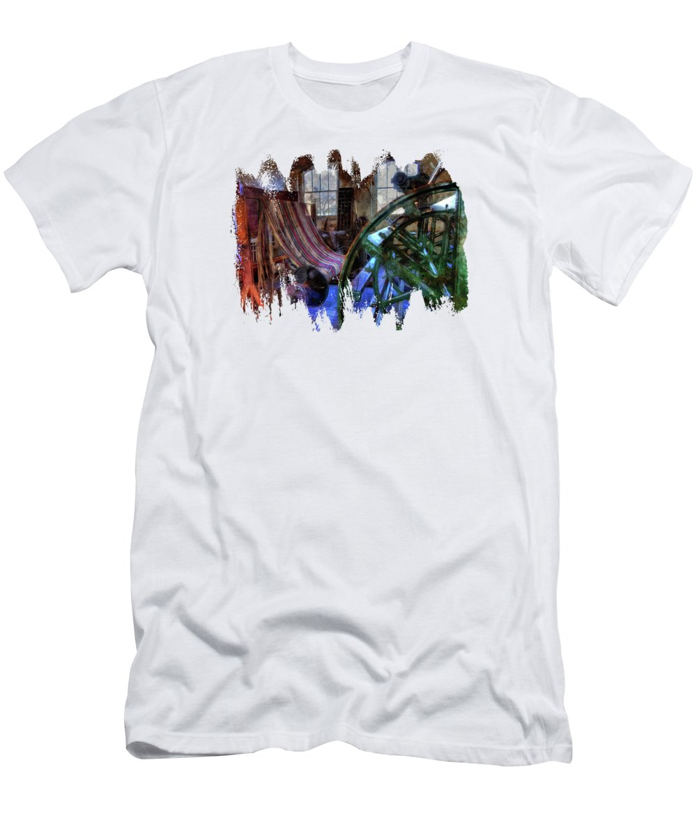 Nostalgic Men's T-Shirt (Athletic Fit) featuring the photograph Lost Forever by Thom Zehrfeld