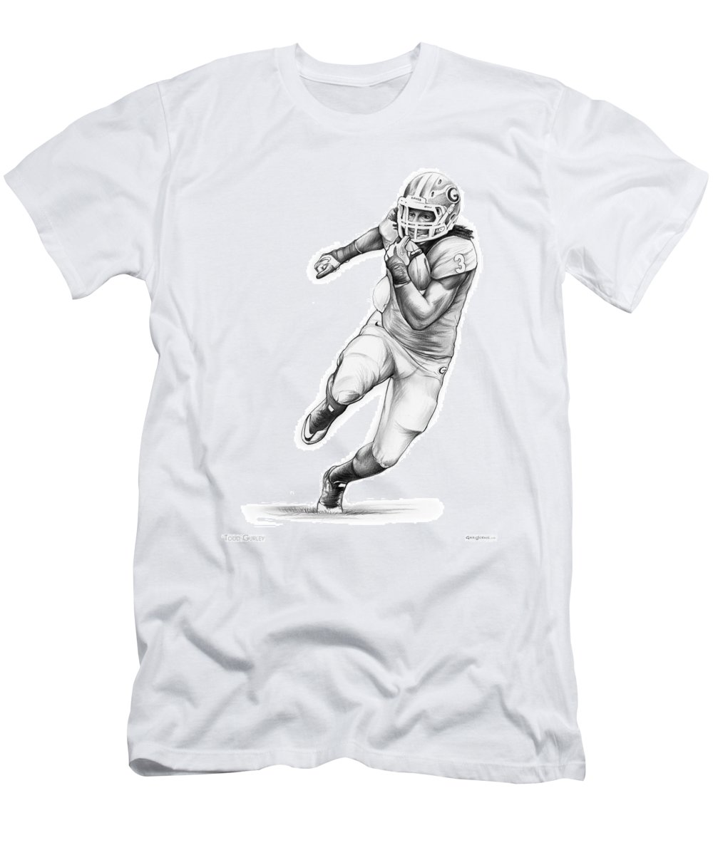 new arrival 0870e b8c4a Todd Gurley Men's T-Shirt (Athletic Fit)