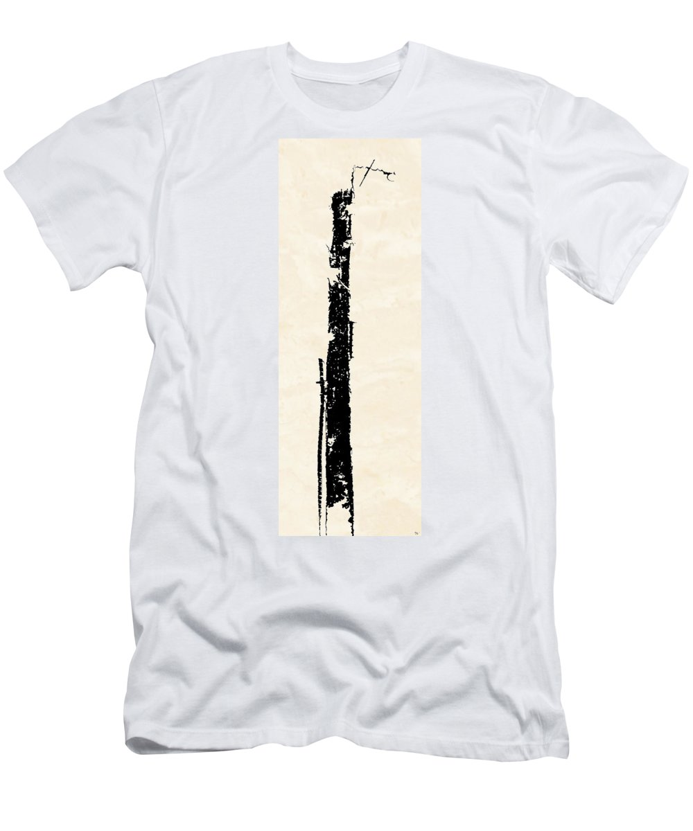 Totem Men's T-Shirt (Athletic Fit) featuring the digital art Totem by Ken Walker