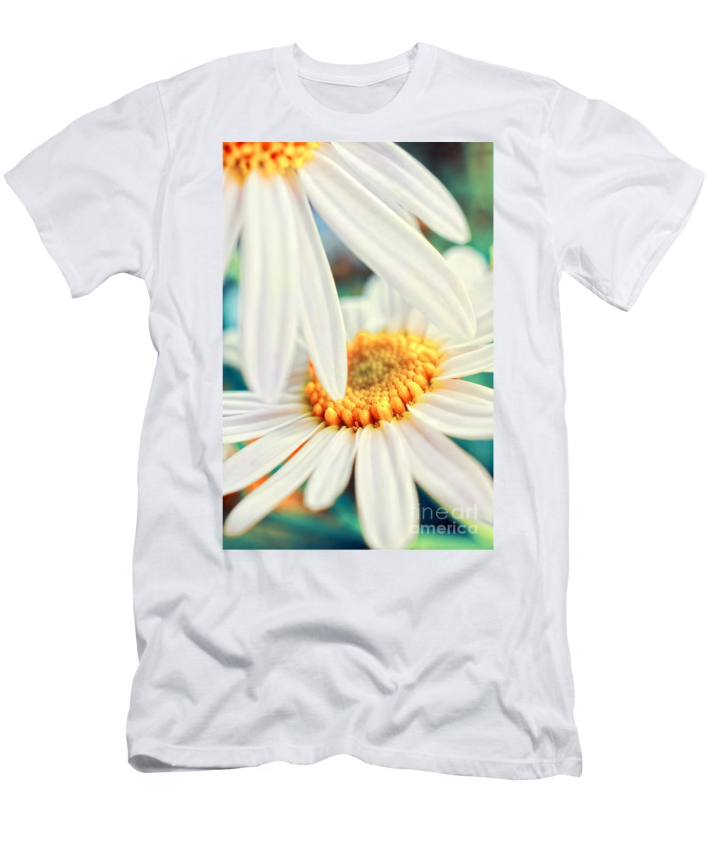 Flowers Men's T-Shirt (Athletic Fit) featuring the photograph Touch by Silvia Ganora