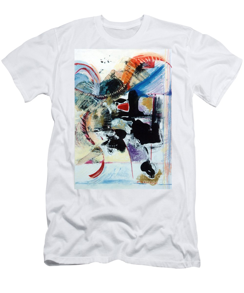 Transcendance Men's T-Shirt (Athletic Fit) featuring the drawing Transcendance by Kerryn Madsen-Pietsch