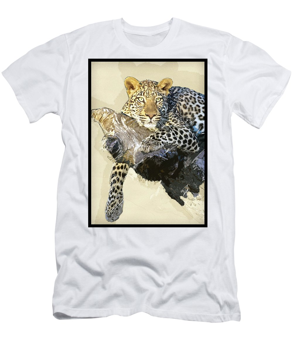 African Men's T-Shirt (Athletic Fit) featuring the photograph Tree Life by Keith Furness