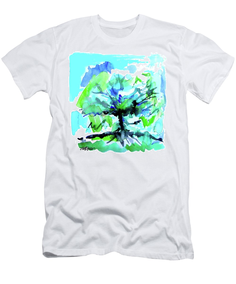 Tree Of Life T-Shirt featuring the painting Tree of Life by Seth Weaver