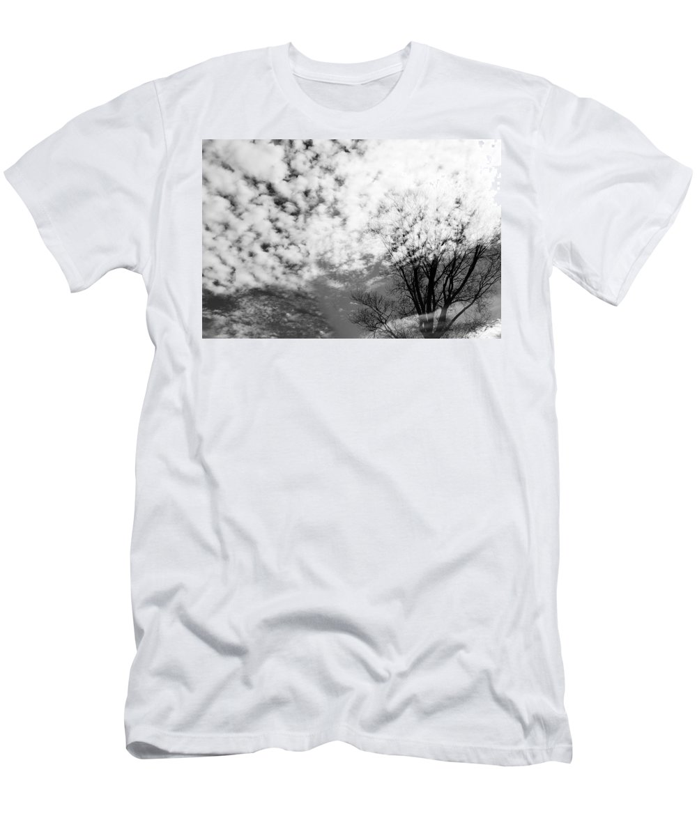 Clouds Men's T-Shirt (Athletic Fit) featuring the photograph Tree's Spirit by Munir Alawi