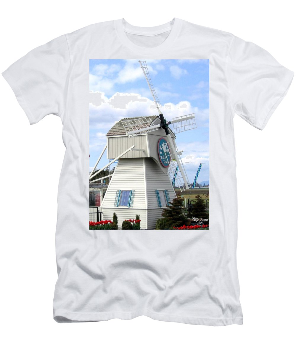 Agriculture Men's T-Shirt (Athletic Fit) featuring the photograph Tulip Town 1 by Will Borden