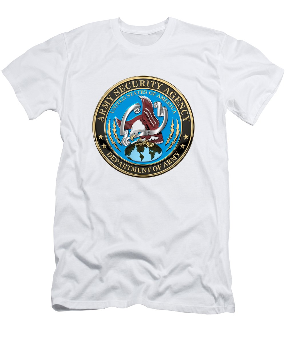d85466c6 'military Insignia 3d' Collection By Serge Averbukh Men's T-Shirt (Athletic  Fit