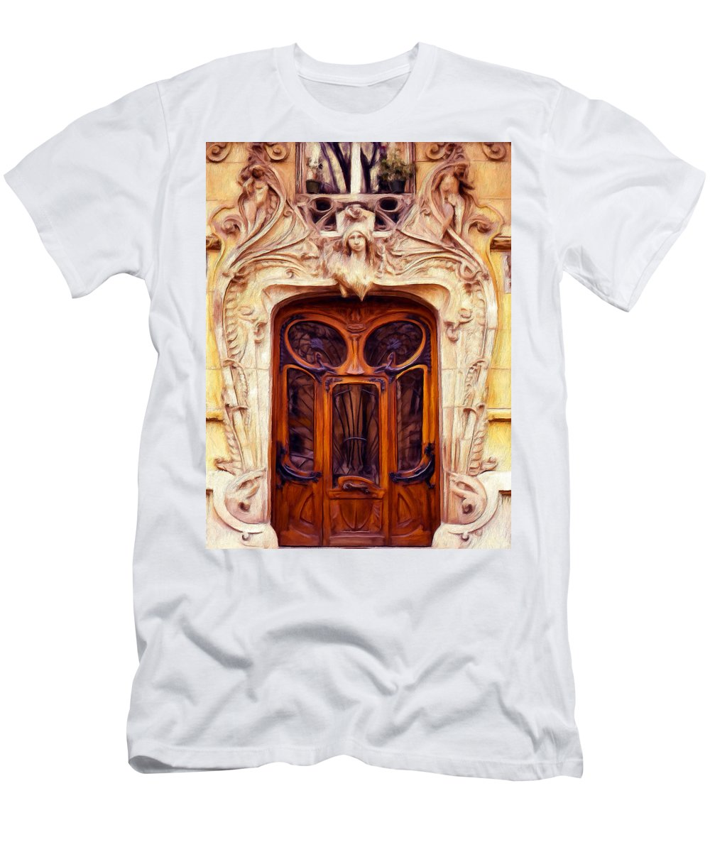 Understated Men's T-Shirt (Athletic Fit) featuring the painting Understated by Dominic Piperata