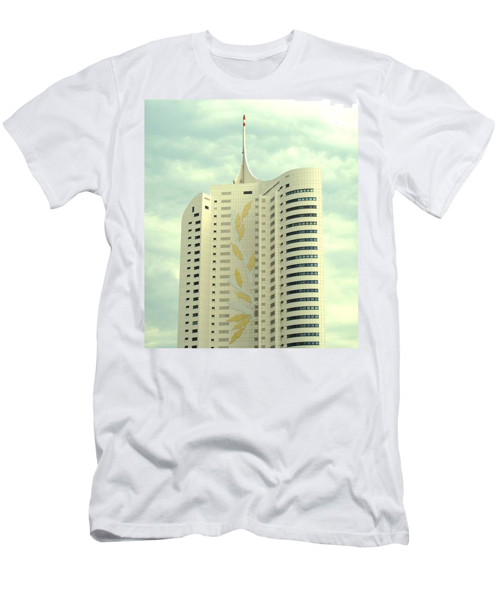 Vienna Men's T-Shirt (Athletic Fit) featuring the photograph Vienna Architecture by Ian MacDonald
