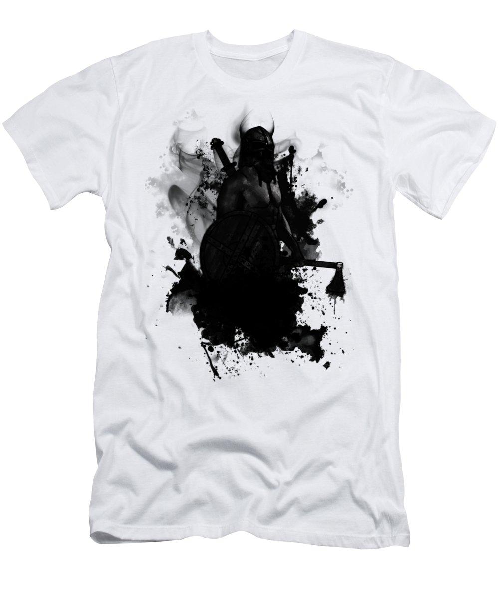 Viking T-Shirt featuring the digital art Viking by Nicklas Gustafsson