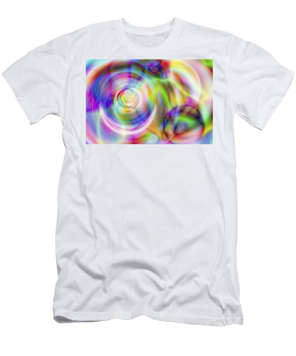 Crazy T-Shirt featuring the digital art Vision 7 by Jacques Raffin
