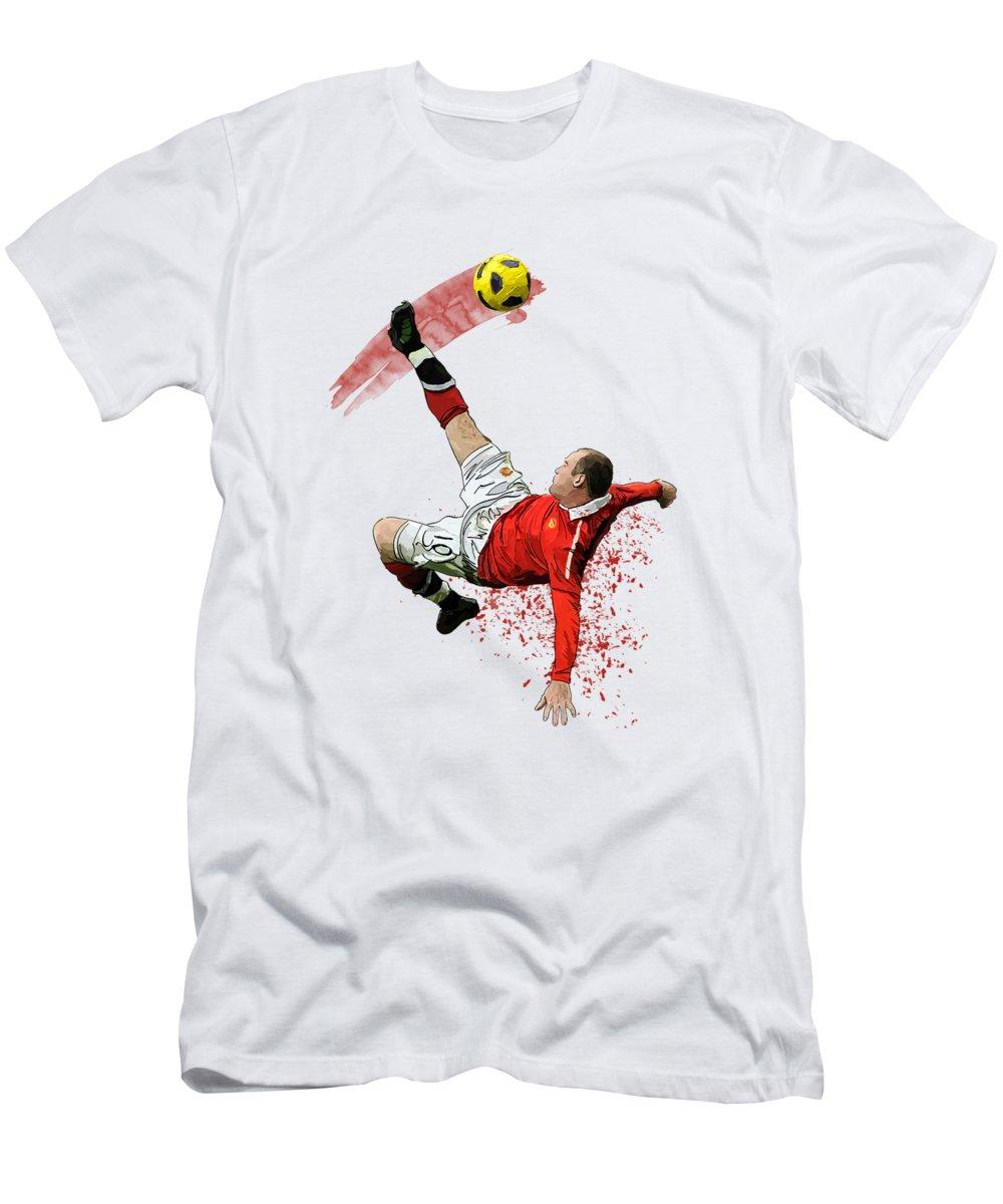 Wayne Rooney Slim Fit T-Shirts