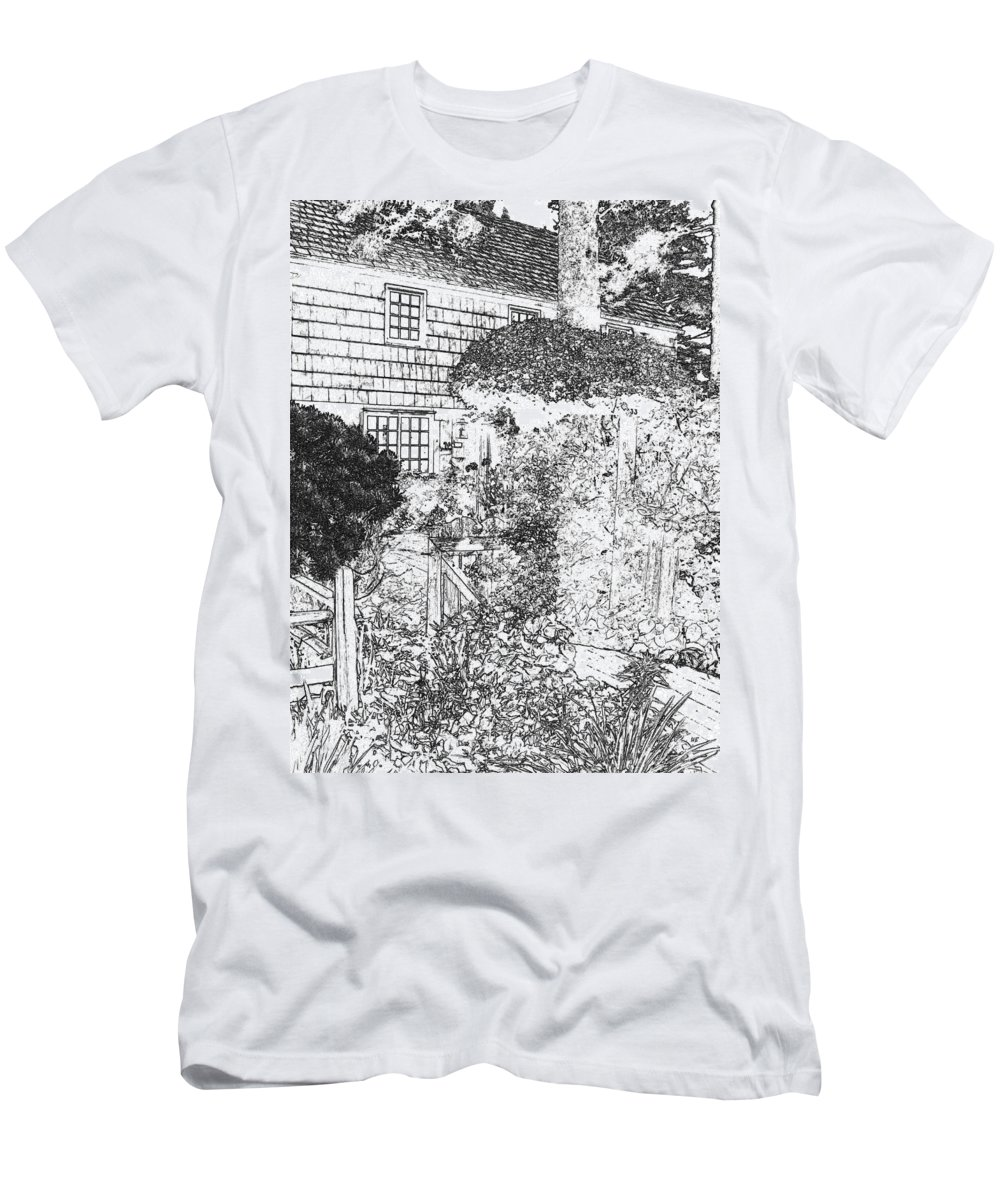 Welcome Home Men's T-Shirt (Athletic Fit) featuring the digital art Welcome Home 2 by Will Borden