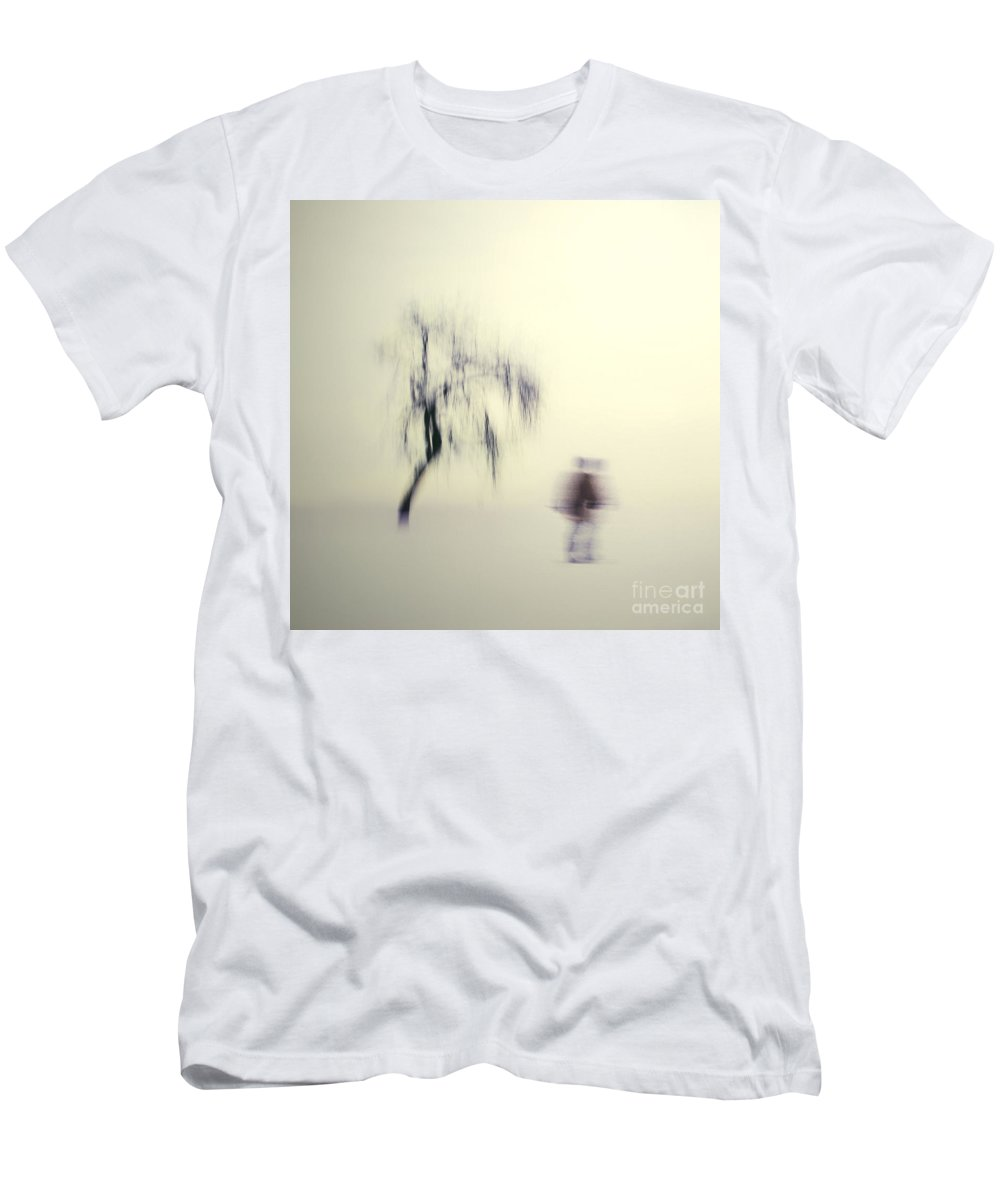 Blur Men's T-Shirt (Athletic Fit) featuring the photograph What Is The Way To The Light by Dana DiPasquale