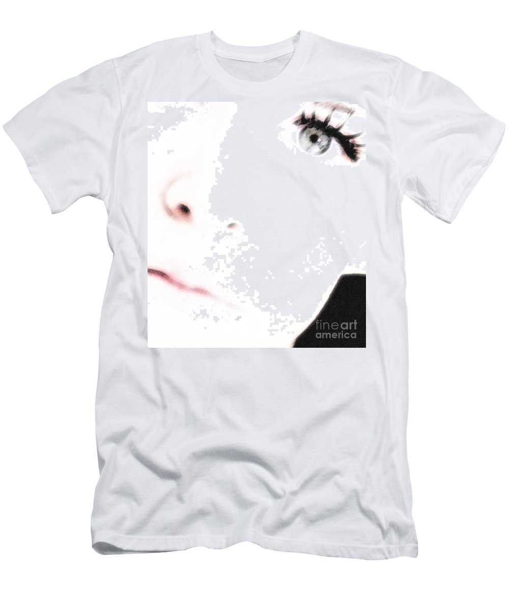 Face Men's T-Shirt (Athletic Fit) featuring the photograph Where Is The Soul by Amanda Barcon