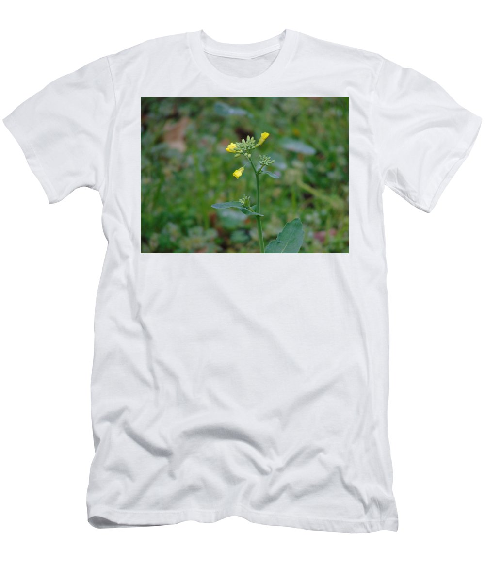 Wildflower Men's T-Shirt (Athletic Fit) featuring the photograph Wildflower by Karen Capehart