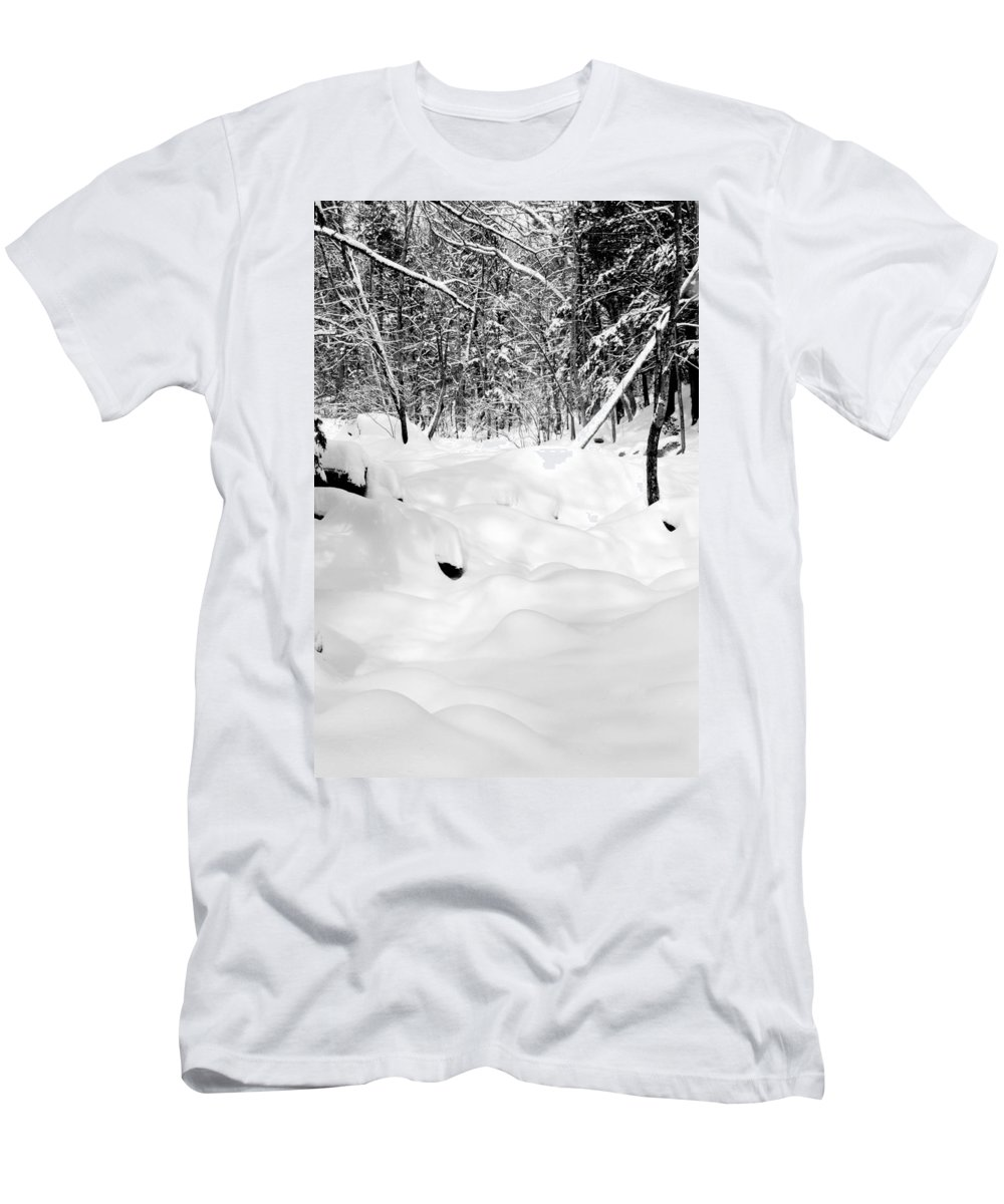 Merrimack Men's T-Shirt (Athletic Fit) featuring the photograph Wonderland by Greg Fortier