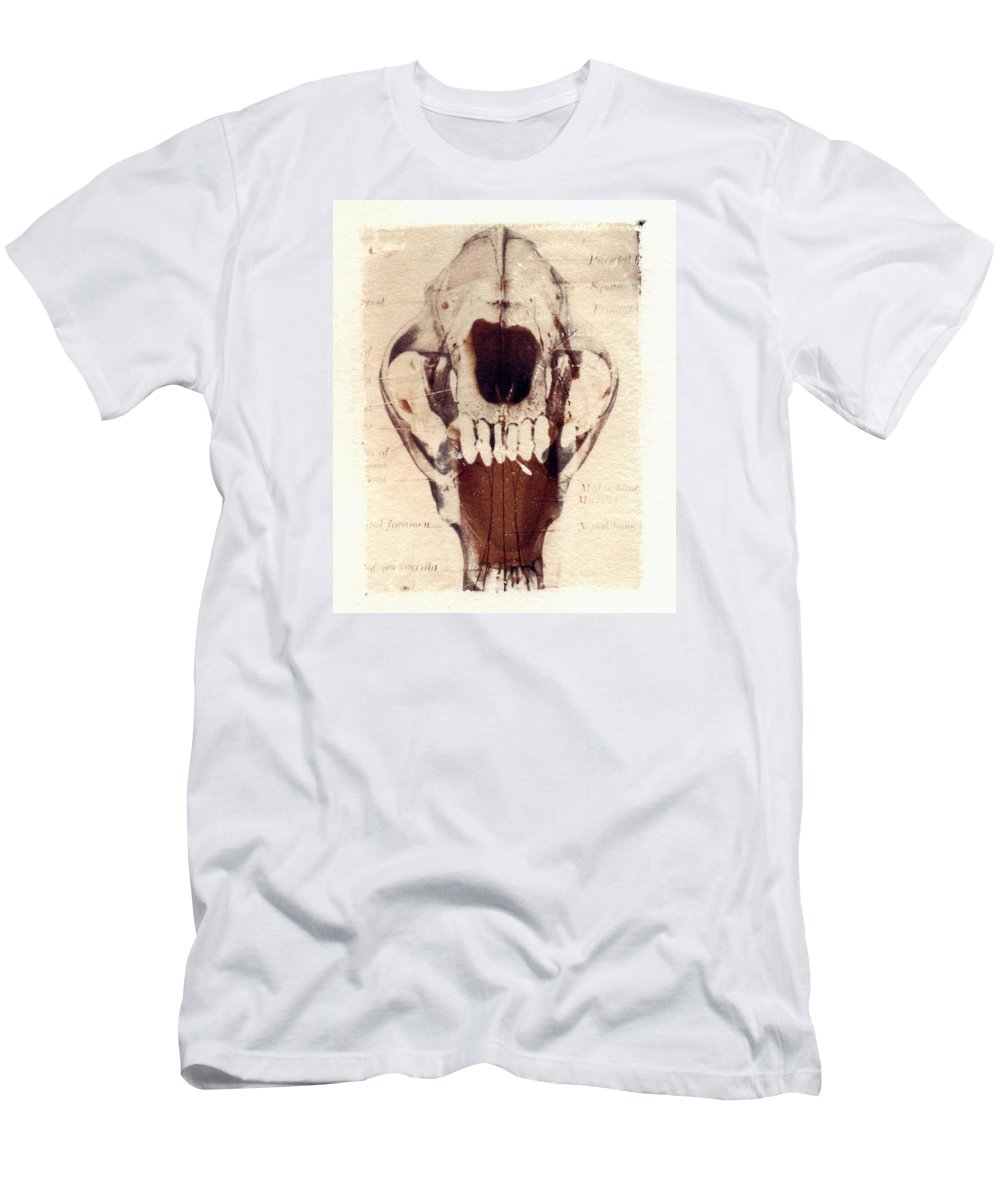 Polaroid Men's T-Shirt (Athletic Fit) featuring the photograph X Ray Terrestrial by Jane Linders