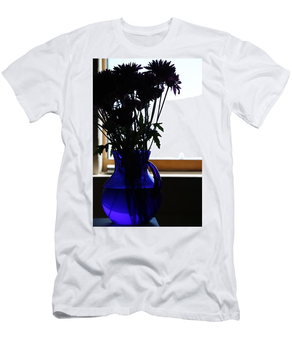Flowers Men's T-Shirt (Athletic Fit) featuring the photograph Yesterday Entails by The Artist Project