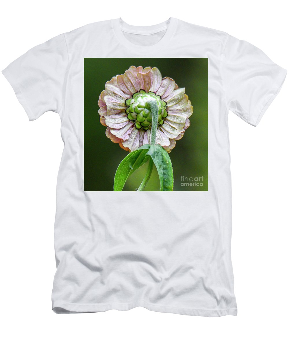 Flower Men's T-Shirt (Athletic Fit) featuring the photograph Flower by Michael D Miller