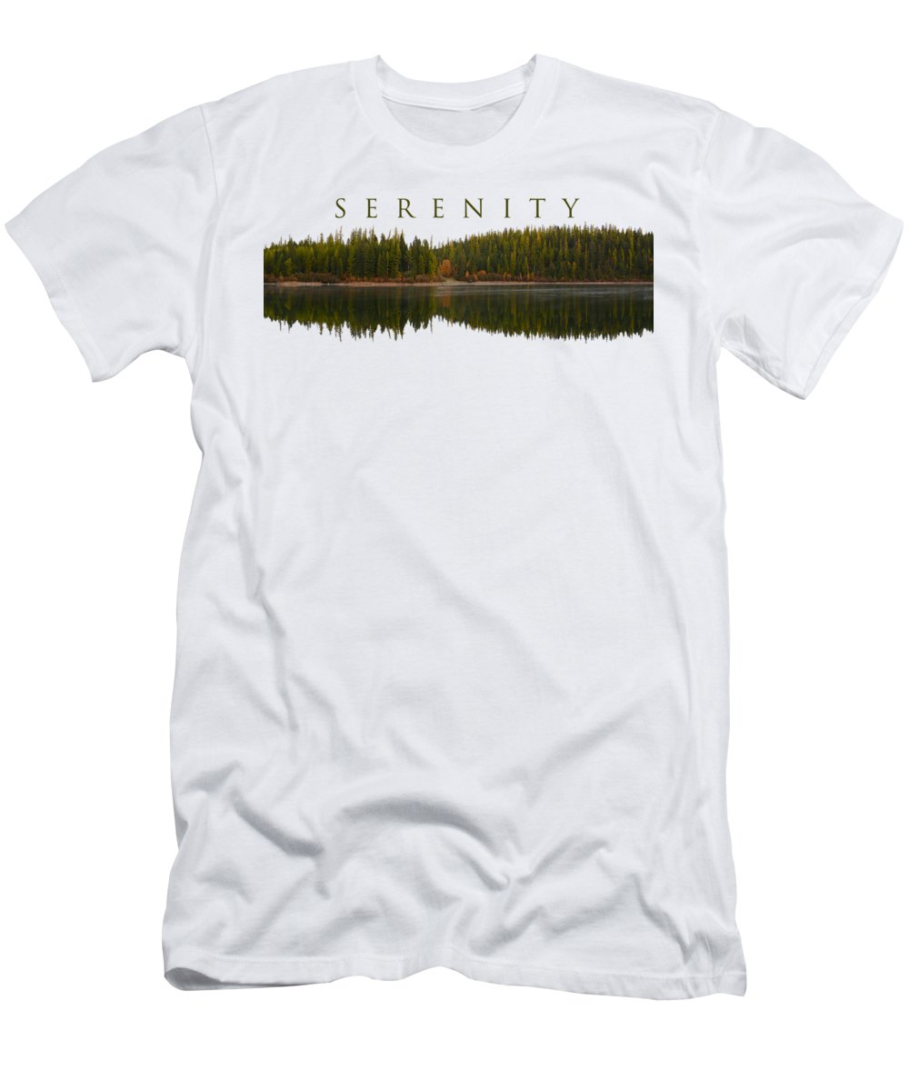 Serenity T-Shirt featuring the photograph Serenity by Whispering Peaks Photography
