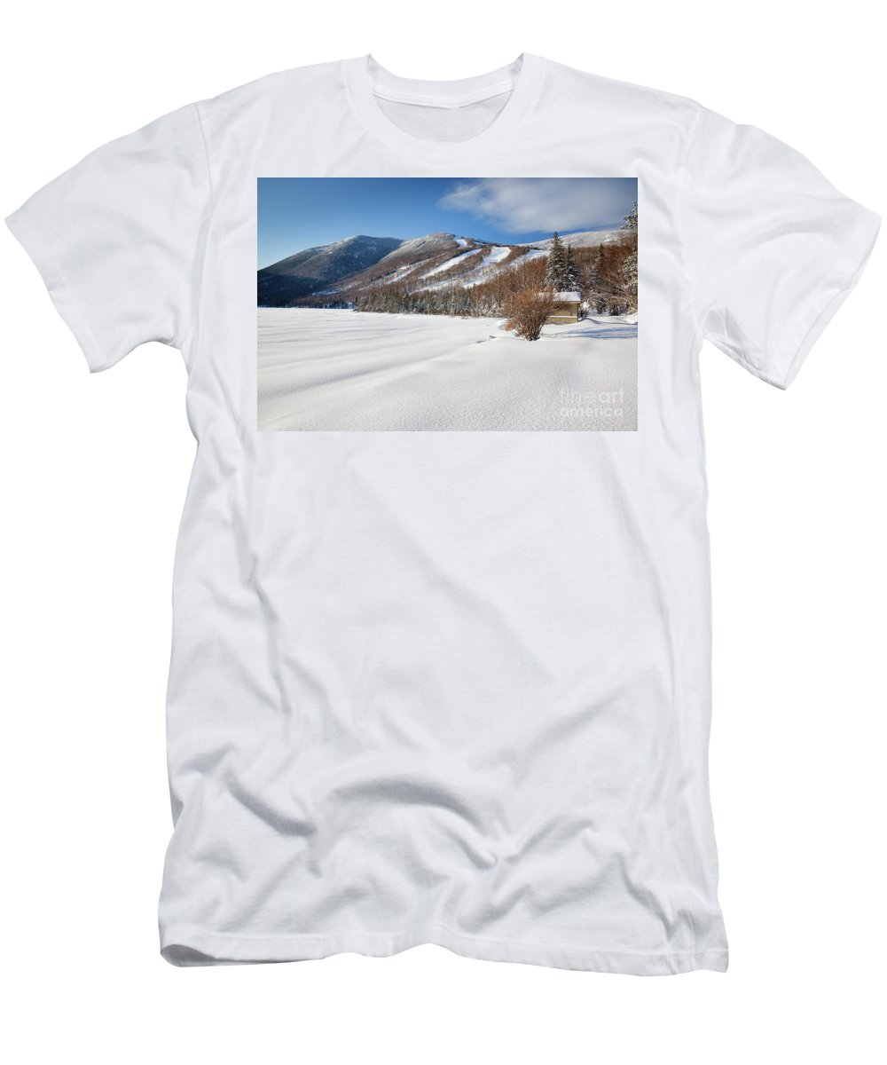 Franconia Notch State Park T-Shirt featuring the photograph Cannon Mountain - White Mountains New Hampshire by Erin Paul Donovan