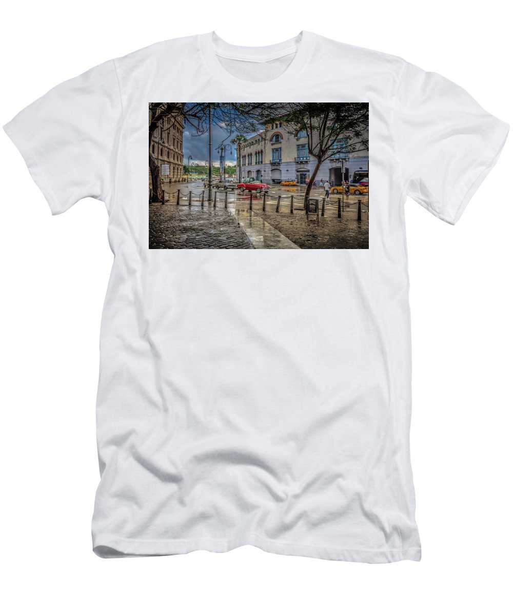 Havana Men's T-Shirt (Athletic Fit) featuring the photograph Havana by Bill Howard