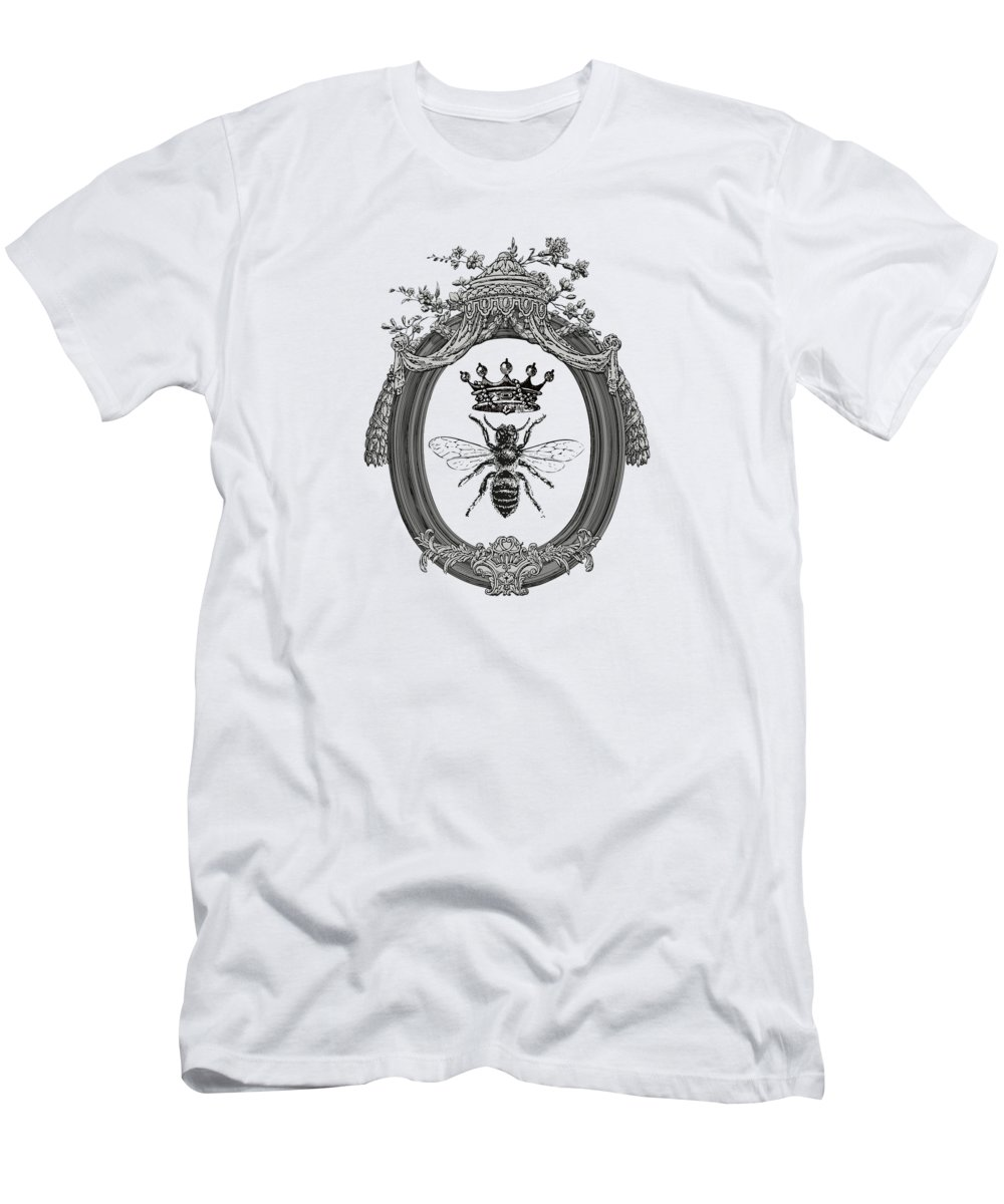 Queen Bee T-Shirt featuring the digital art Queen Bee by Eclectic at HeART