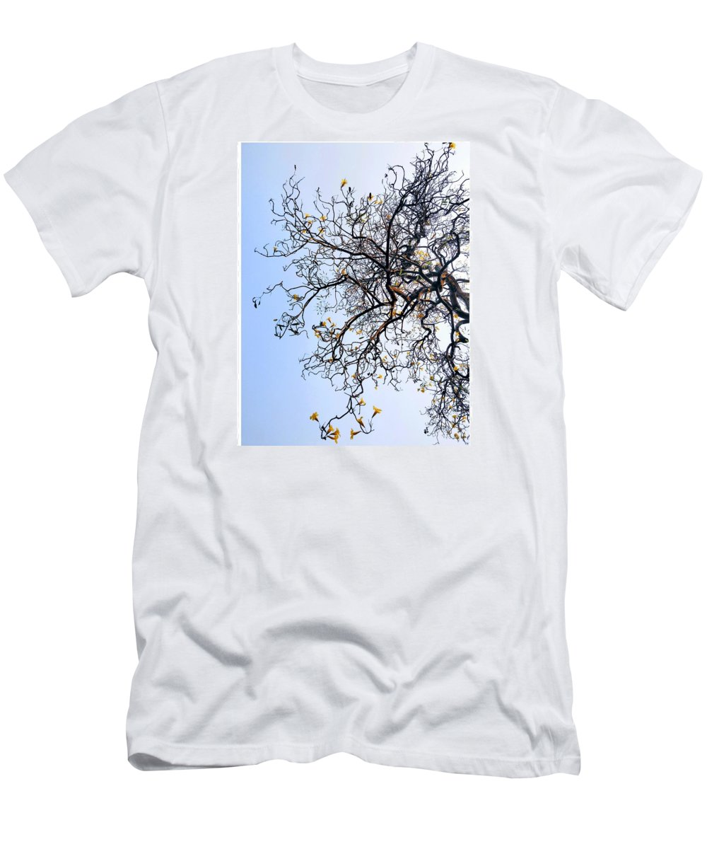 Autumn Men's T-Shirt (Athletic Fit) featuring the photograph Autumn by Priya Hazra