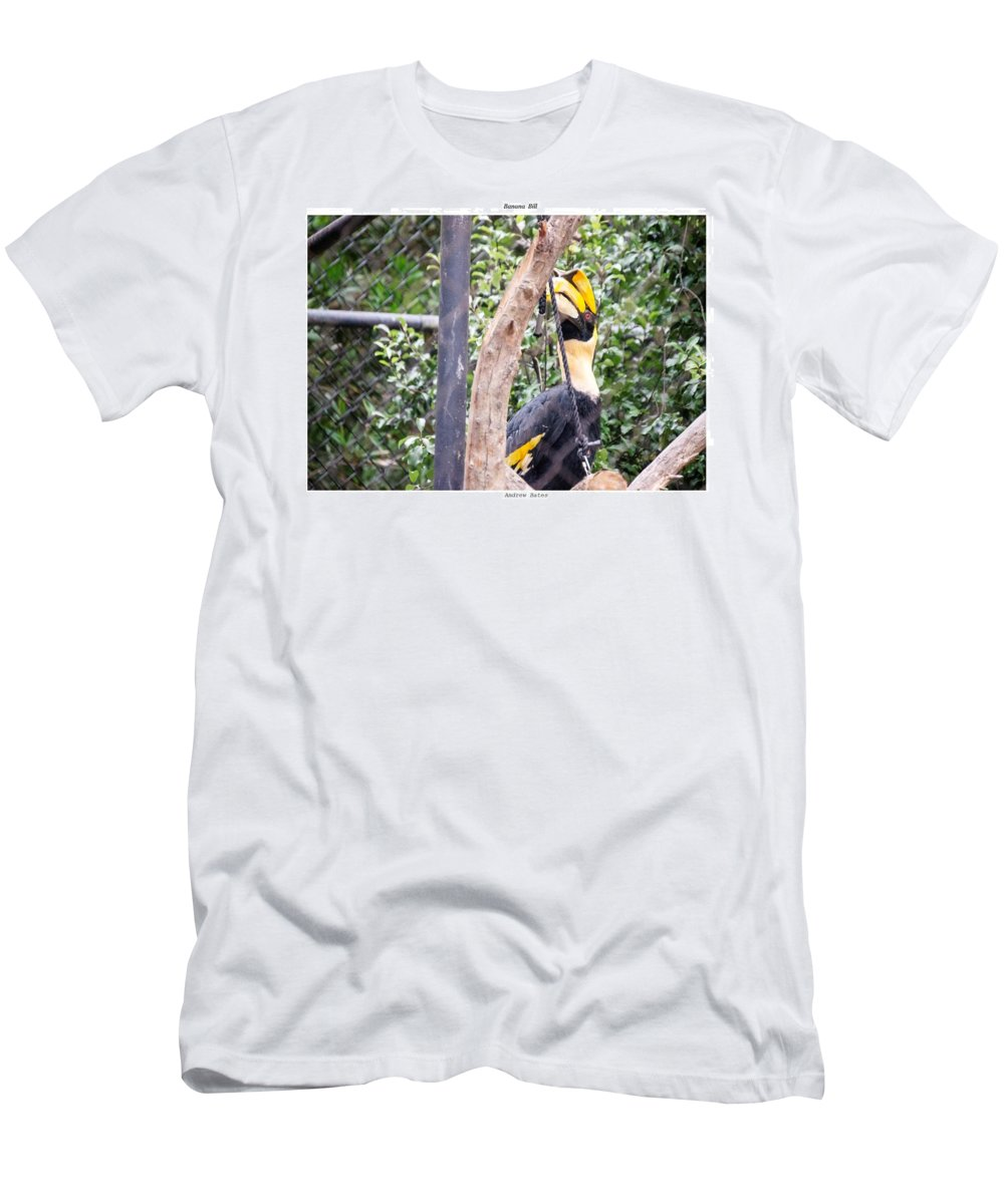 Toucan Men's T-Shirt (Athletic Fit) featuring the photograph Banana Bill by Andrew Bates
