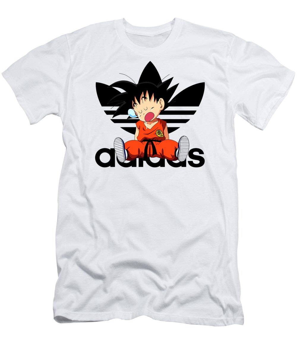 792b9460d243a Goku Adidas Men's T-Shirt (Athletic Fit)