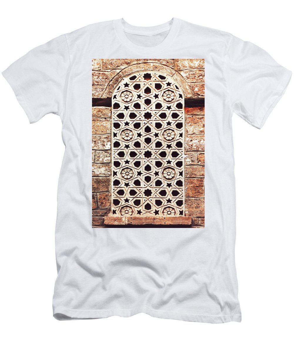 Agha Mikayil Bath Men's T-Shirt (Athletic Fit) featuring the photograph Outro by Iryna Goodall