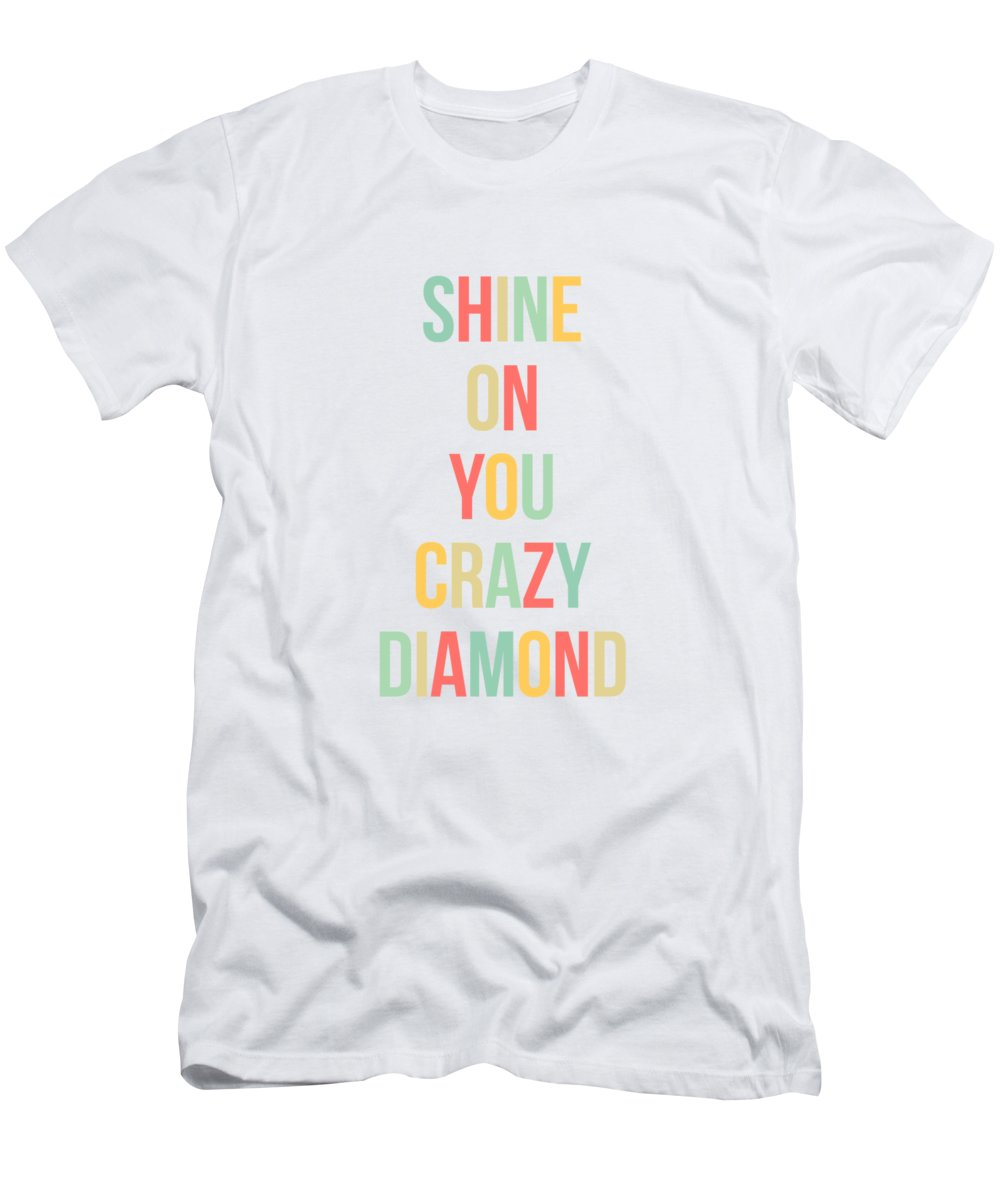 Shine On You Men s T-Shirt (Athletic Fit) featuring the digital art Shine 4827c7780