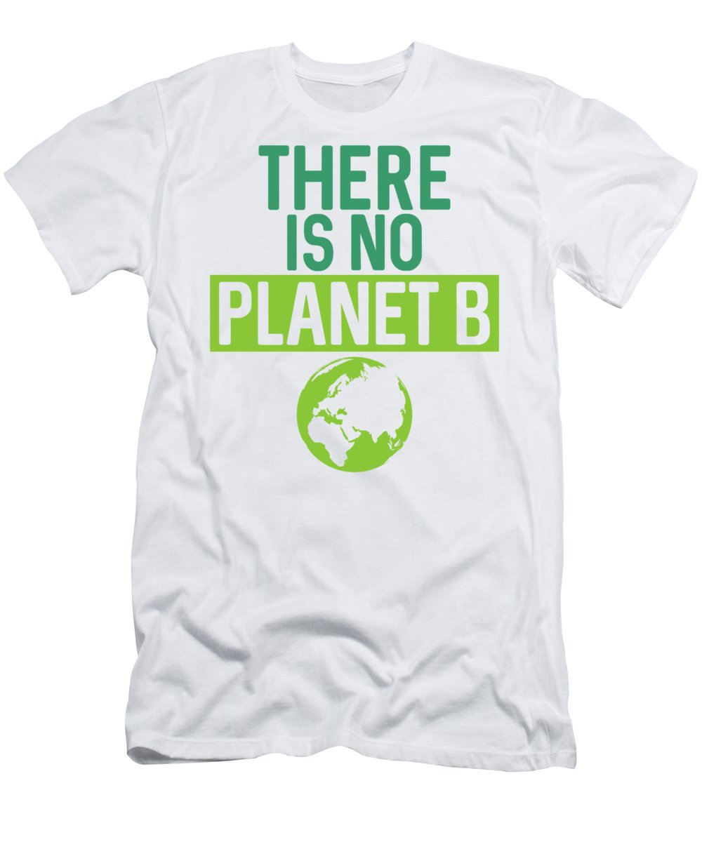 There Is No Planet B Illustration Frauen Bio-T-Shirt