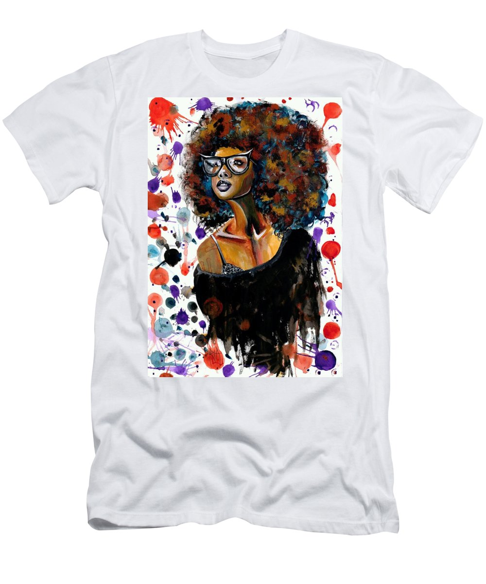 Sexy T-Shirt featuring the painting Dope Chic by Artist RiA