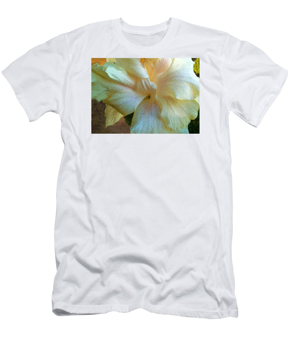 Hawaiian Flowers T-Shirt featuring the photograph Evening Hibiscus by James Temple