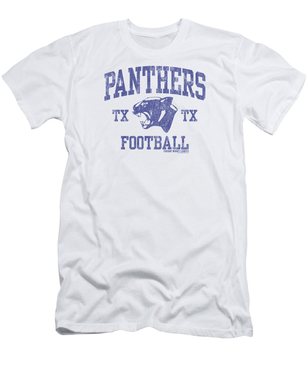 Friday Night Lights T-Shirt featuring the digital art Panthers Football by Earl Brock