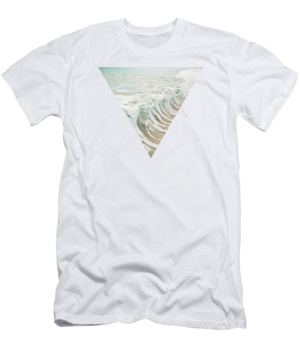 Ocean Photographs T-Shirt featuring the photograph Sea Foam by Cassia Beck