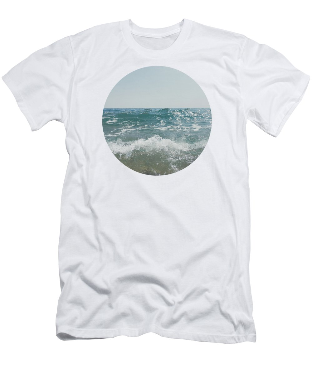Sea T-Shirt featuring the photograph Shore by Cassia Beck