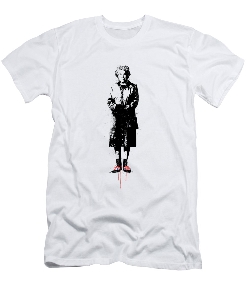 England T-Shirt featuring the mixed media This is England by Balazs Solti