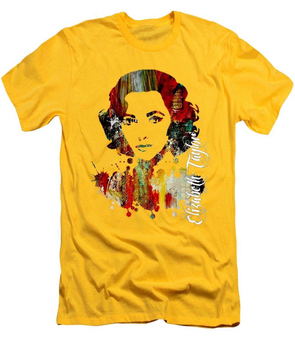 Elizabeth Taylor Slim Fit T-Shirts