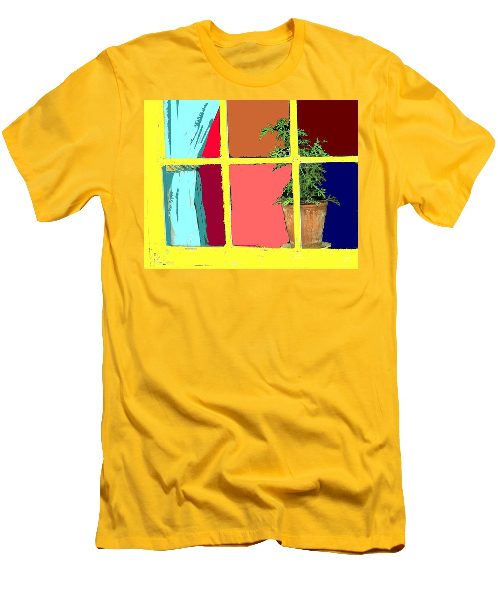 Window Men's T-Shirt (Athletic Fit) featuring the photograph Window by Ian MacDonald