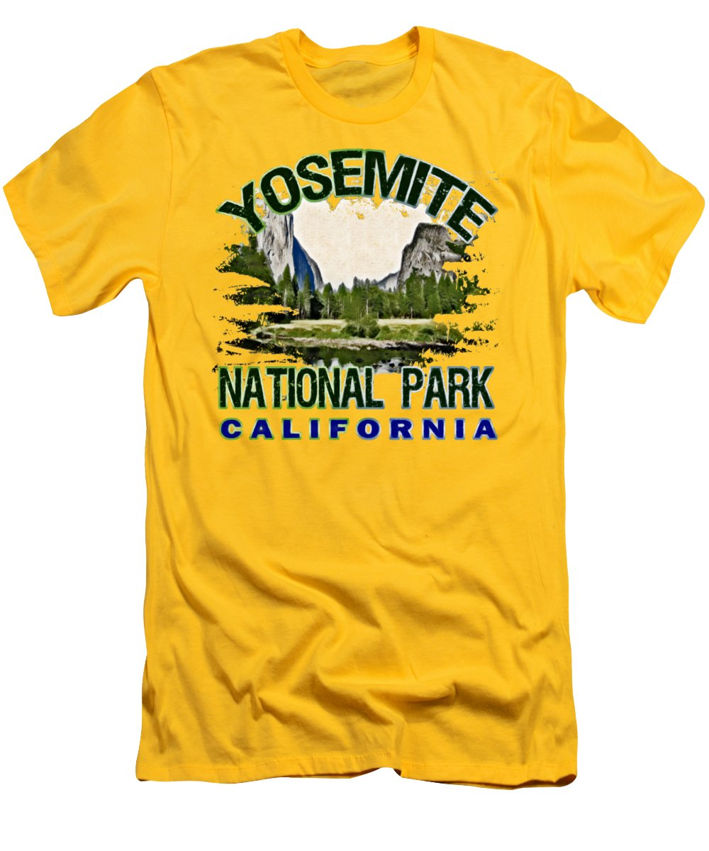 Yosemite National Park Slim Fit T-Shirts