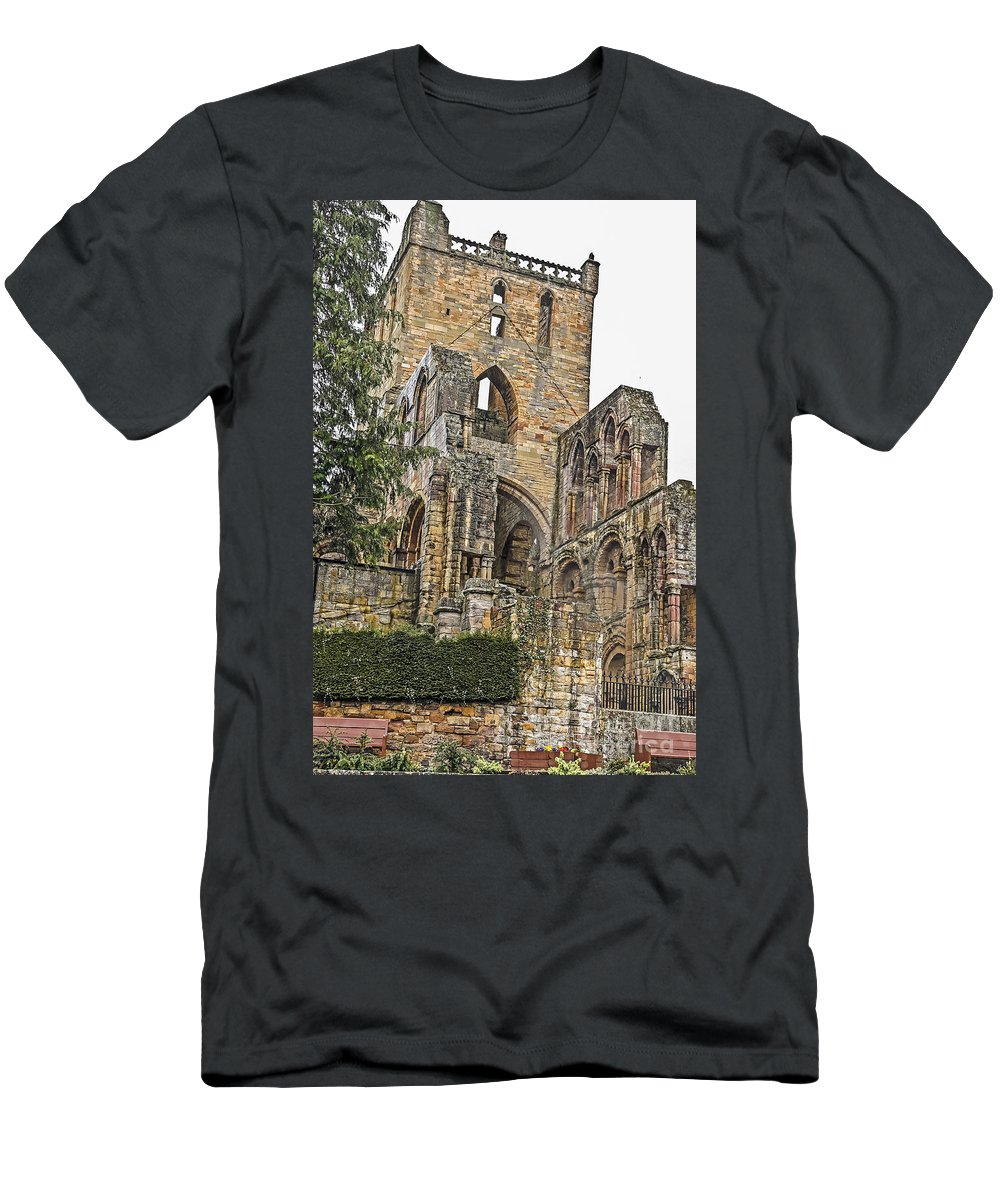 Travel Men's T-Shirt (Athletic Fit) featuring the photograph Augustinian Abbey by Elvis Vaughn