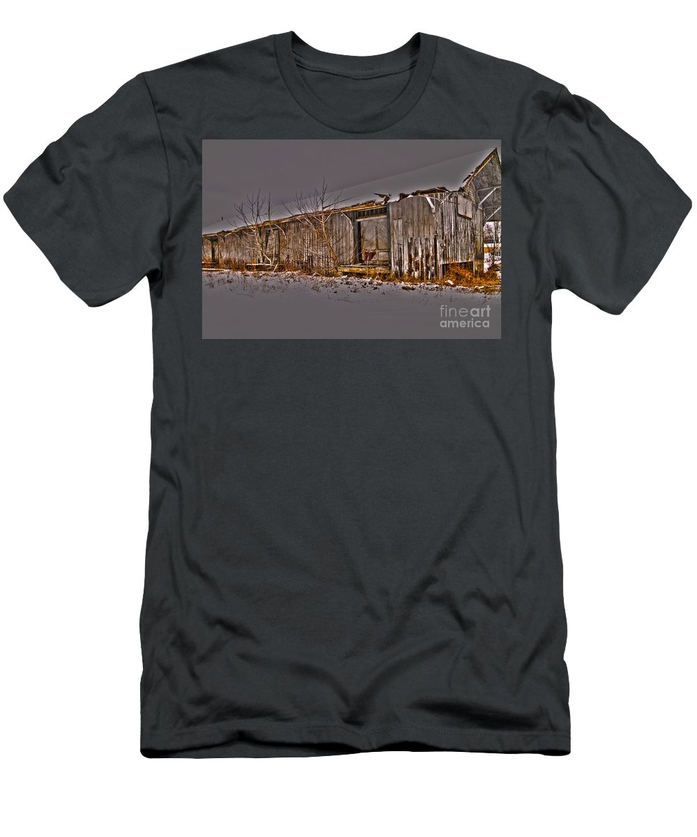 Abandoned Men's T-Shirt (Athletic Fit) featuring the photograph Abandoned by William Norton