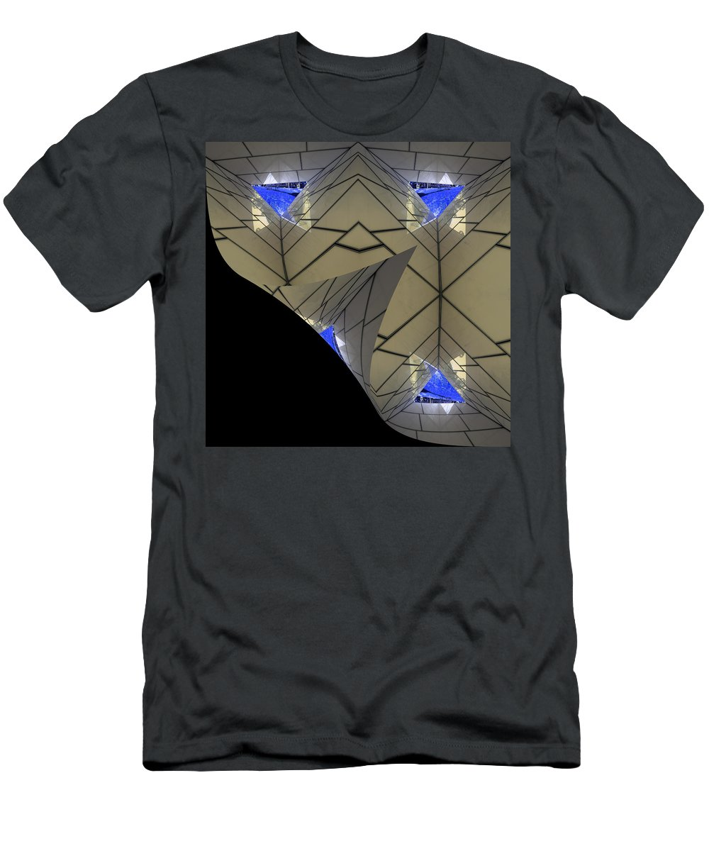 Abstract Men's T-Shirt (Athletic Fit) featuring the photograph Altered State by Wayne Sherriff