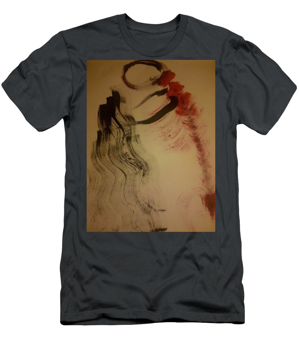 Figures Men's T-Shirt (Athletic Fit) featuring the photograph Art Therapy 19 by Michele Monk