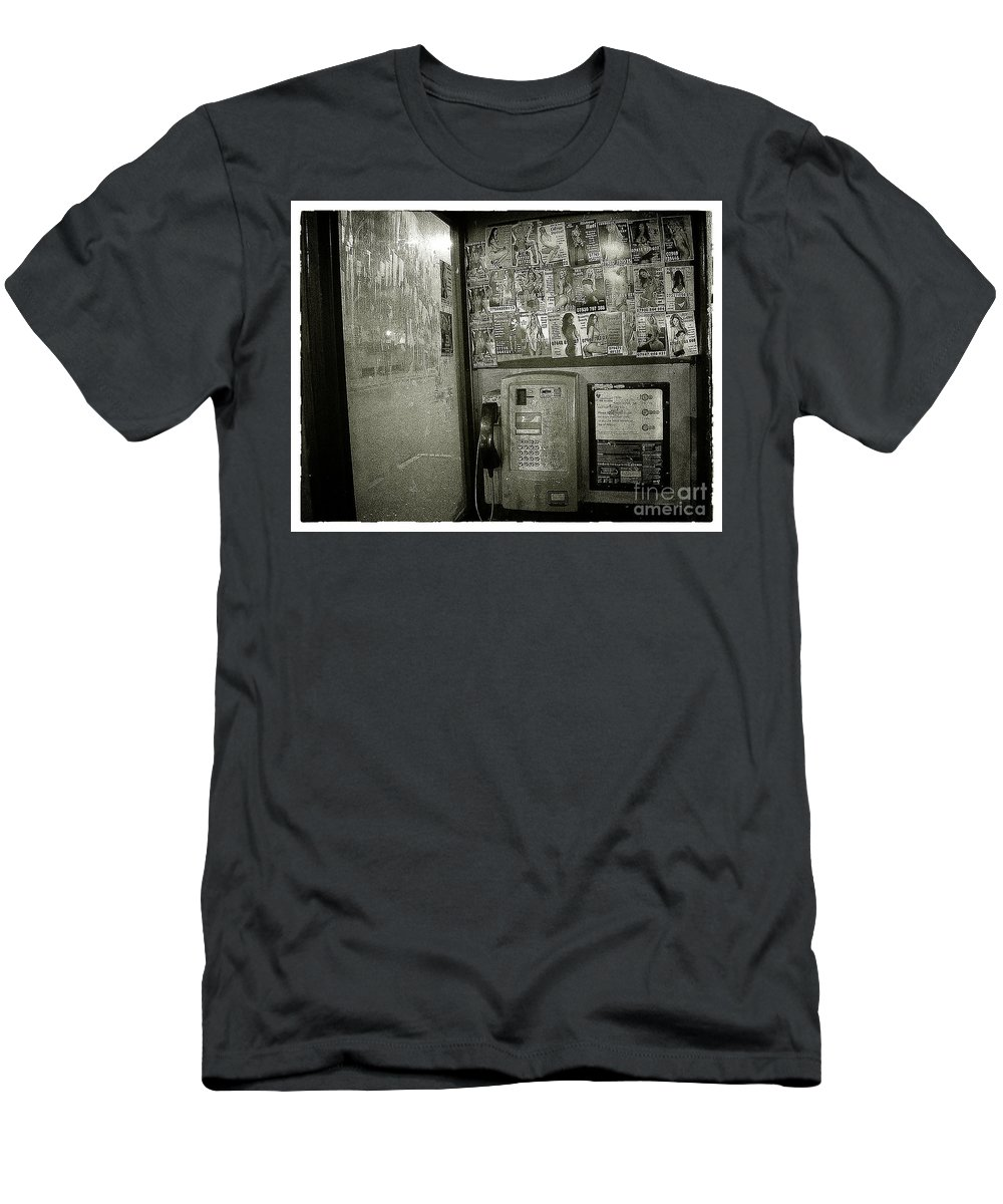 London Men's T-Shirt (Athletic Fit) featuring the photograph Call Me by Rob Hawkins