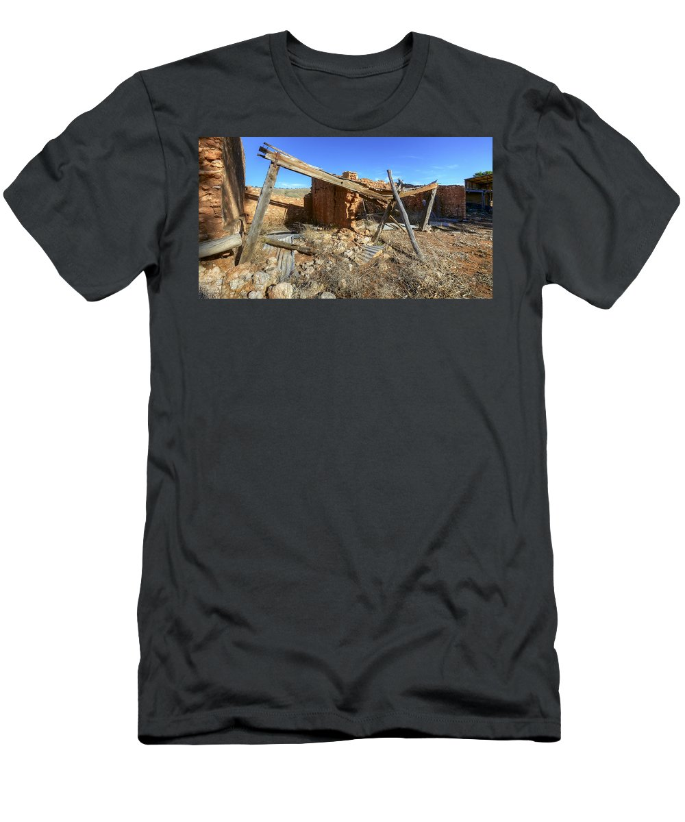 Architecture Men's T-Shirt (Athletic Fit) featuring the photograph Equilibrium by Wayne Sherriff