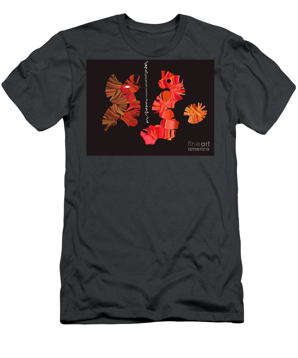 Men's T-Shirt (Athletic Fit) featuring the digital art No. 383 by John Grieder